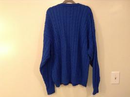 Bermuda Yachting Blue Knit Long Sleeve 100 Percent Cotton Sweater Size XXL image 6