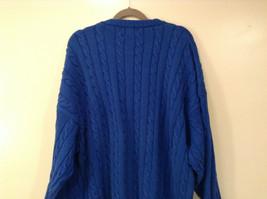 Bermuda Yachting Blue Knit Long Sleeve 100 Percent Cotton Sweater Size XXL image 7