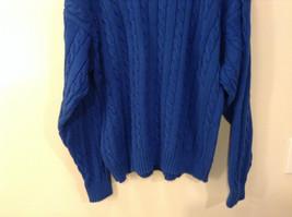 Bermuda Yachting Blue Knit Long Sleeve 100 Percent Cotton Sweater Size XXL image 8