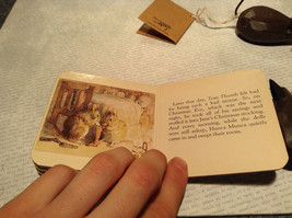 The Story of Two Bad Mice by Chatham River Story Book Pair of Brown Wooden Mice image 5