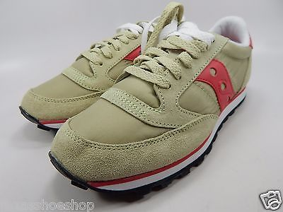 Saucony Original Jazz Low Pro Women's Size US 7 M (B) EU 38 Green Pink S1866-173