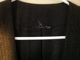 Black Checkered Pattern 4 Button Closure Vest NO TAG Measurements Below image 3