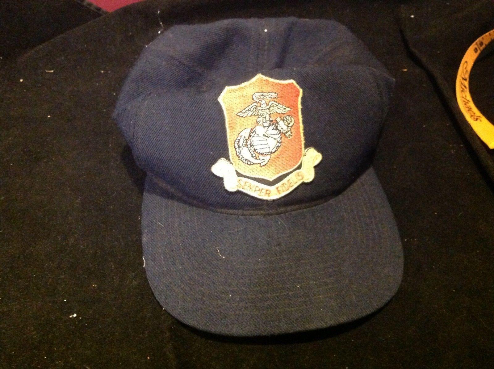 semper fidelu blue hat
