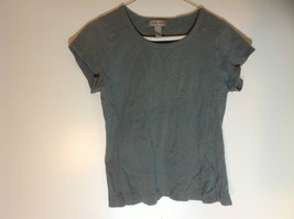 i.e. relaxed olive ribbed t shirt size Medium