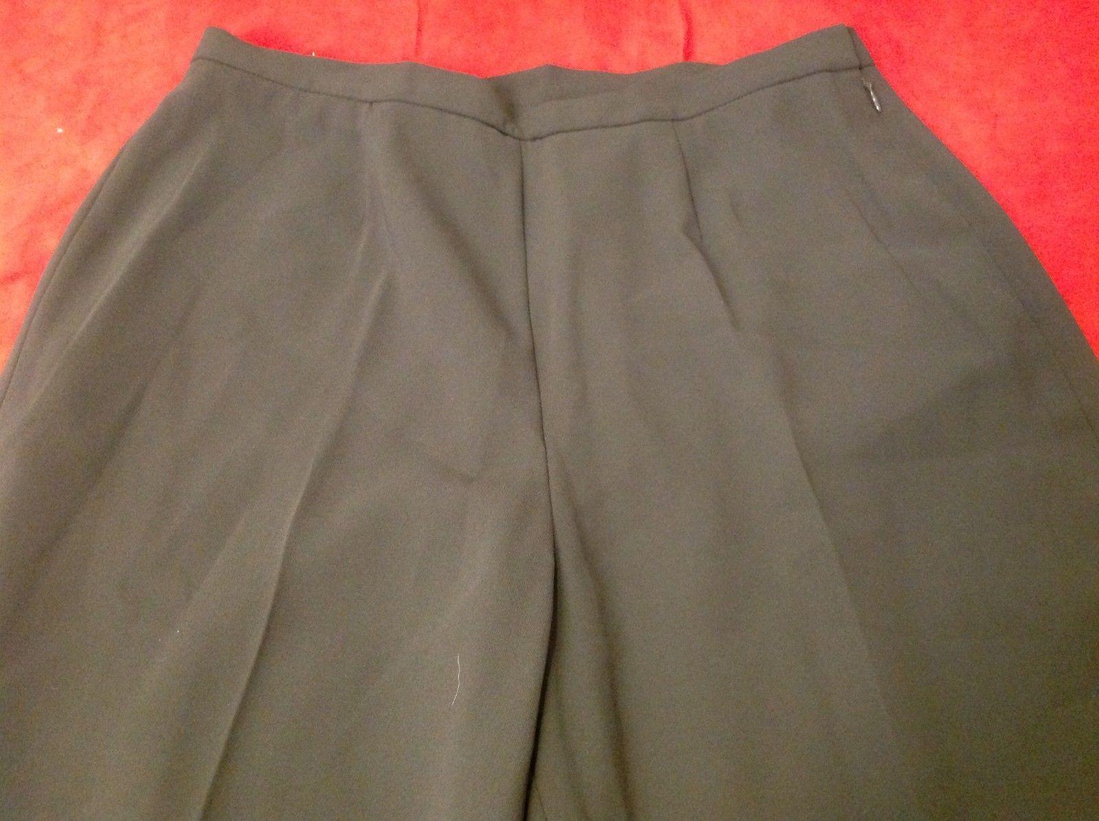 kasper classics brown casual pants women's size 8