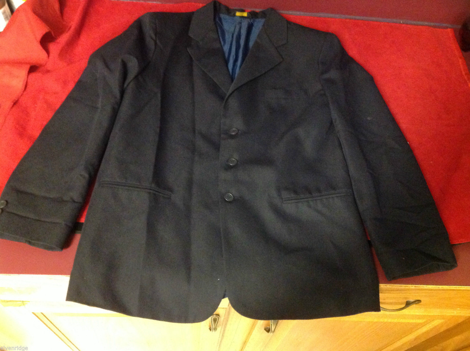 kids black blazer sport jacket size 5