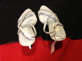 lord and taylor light blue 4 inch heel size 6.5