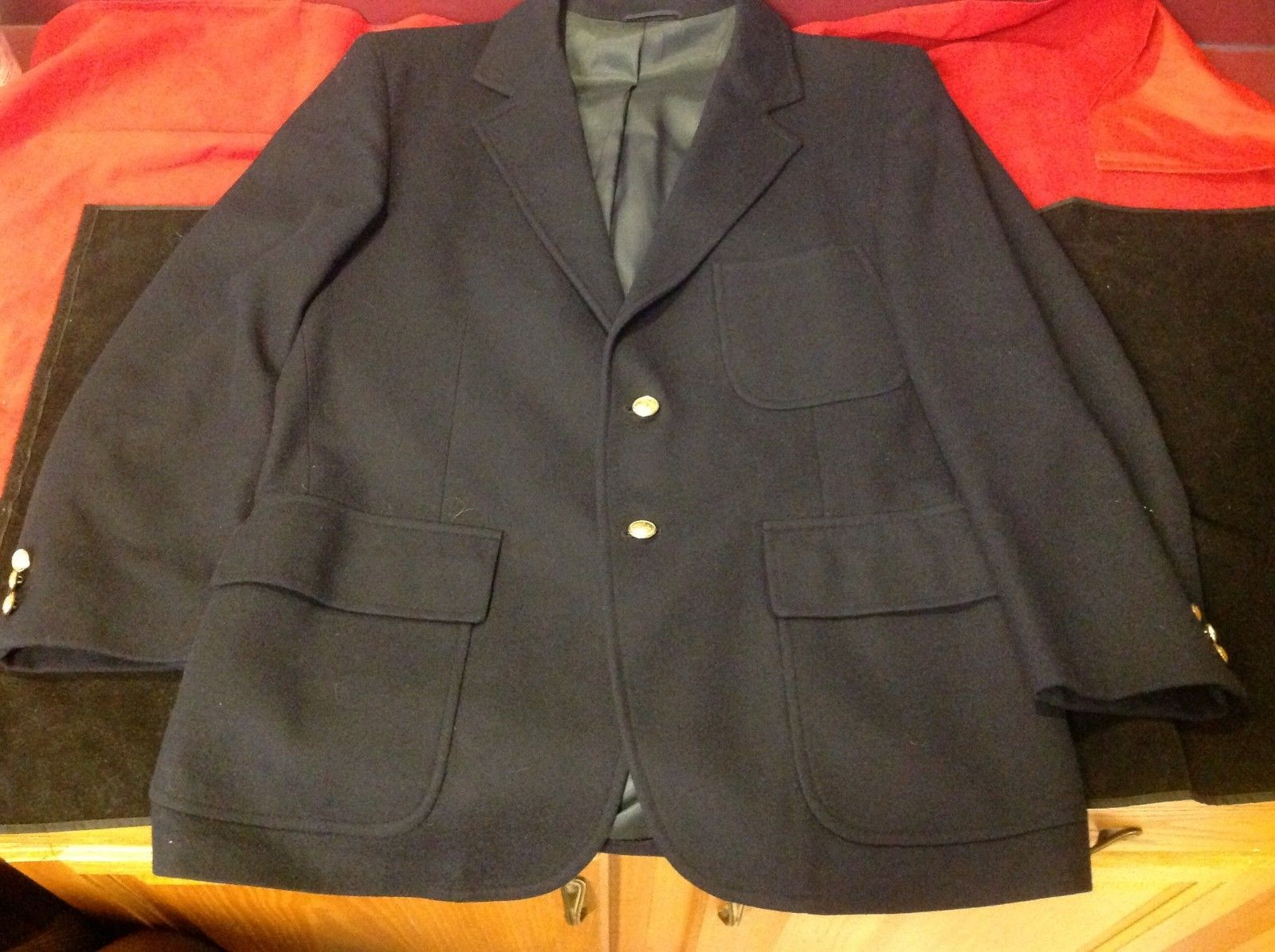 oh!! r Bach's blue coat for woman size 13  Ohrbach's