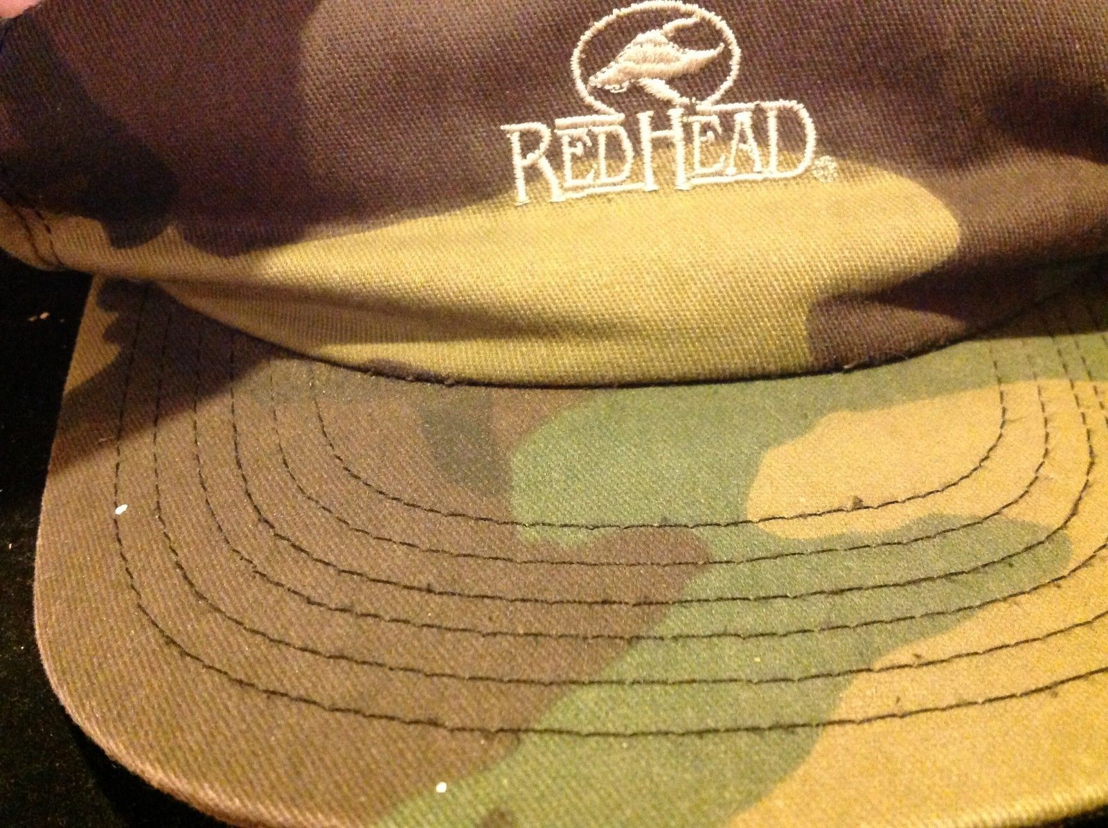 red head brand military hat color olive grenn