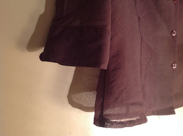 Three Piece Plum Blazer Shirt and Skirt Set by Woman size 10 M 38 image 5
