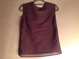 Three Piece Plum Blazer Shirt and Skirt Set by Woman size 10 M 38 image 3