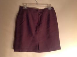 Three Piece Plum Blazer Shirt and Skirt Set by Woman size 10 M 38 image 6