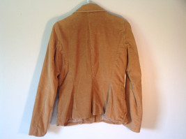 Timberland Brown Corduroy Jacket 2 Front Pockets 3 Button Closure Size 8 image 3