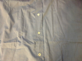 Tiatteli Mens Light Blue Long Sleeve Dress Shirt Made in Italy Size 16 Regular image 7