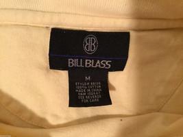 Bill Blass Light Yellow 100% cotton T-Shirt, Size M image 5