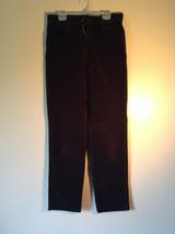 Van Heusen Stretch Black Corduroy Casual Pants Size 4 image 2