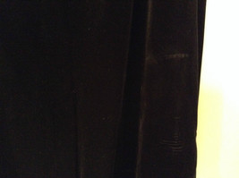 Black Annex Casual Corner Velvet Skirt Size 1X Elastic Waist Slits Back and Side image 6