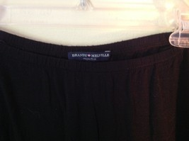 Black Brandy Melville One Sizes Fits All Long Skirt with Elastic Waistband image 2