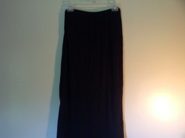Black Brandy Melville One Sizes Fits All Long Skirt with Elastic Waistband image 3