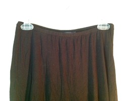 Black Brandy Melville One Sizes Fits All Long Skirt with Elastic Waistband image 4