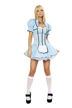Sexy Roma Tea Party Alice Wonderland Halloween Costume W/WO EXTRAS S/M M... - $65.00+