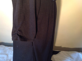 Black Cardigan Short Sleeves Blue Tank Top All In One Very Fashionable Size XL image 7