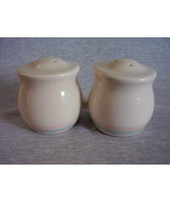Pfaltzgraff Aura Pink Salt & Pepper Shakers Mad... - $22.00