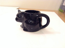 Black Cat Candle Holder Four and a Half Inches Candle Opening Two Inches Tall image 3