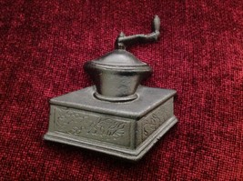 Black Cast Iron wall art coffee grinder representation image 3