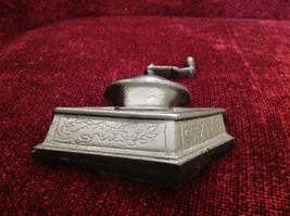 Black Cast Iron wall art coffee grinder representation image 2