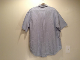 Vintage Oxford 100 Percent Cotton Size 42 to 44 Short Sleeve Light Blue Shirt image 4