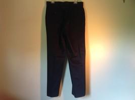 Black DOCKERS D3 Pleated Dress Pants Zipper Button Closure Size 33 by 32 image 5