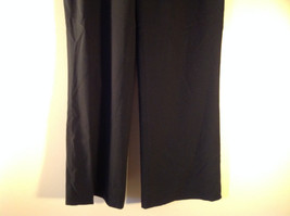 Black Dress Pants by Banana Republic Wide Bottoms Good Condition Size 4 image 3