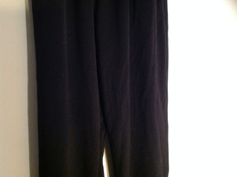 Black Dri Power Gym Pants Elastic Waistband with Drawstring by Russell Size S image 3