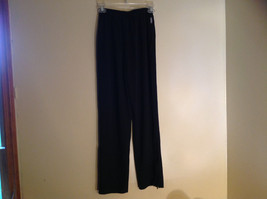 Black Dri Power Gym Pants Elastic Waistband with Drawstring by Russell Size S image 7
