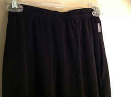 Black Dri Power Gym Pants Elastic Waistband with Drawstring by Russell Size S image 6