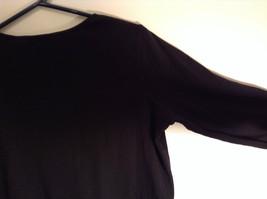 Black Covington Stretch Three Quarter Length Sleeves Sweater Size 16 to 18W image 5