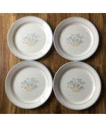 """FOUR Vintage COUNTRY CORNFLOWER Corning 10 1/4"""" Corelle Dinner Plate Replacement - $14.84"""