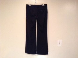 Black Dress Pants by GAP Original Size 4 Long Stretch Flare Two Front Pockets image 3