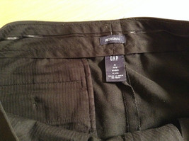 Black Dress Pants by GAP Original Size 4 Long Stretch Flare Two Front Pockets image 6