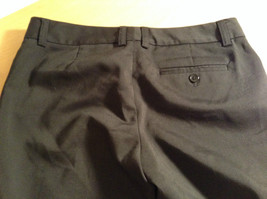 Black Dress Pants by GAP Original Size 4 Long Stretch Flare Two Front Pockets image 5