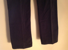 Black Five Pocket Boot Cut Jeans Eddie Bauer Made in Thailand Size 6P image 3
