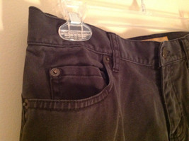 Black Five Pocket Boot Cut Jeans Eddie Bauer Made in Thailand Size 6P image 4