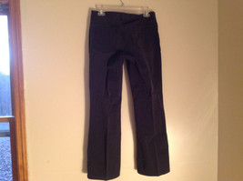 Black Five Pocket Boot Cut Jeans Eddie Bauer Made in Thailand Size 6P image 6