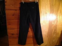 Black Corduroy 4 Pocket Pants by Savile Row Button Zipper Closure Size 32 x 30 image 7