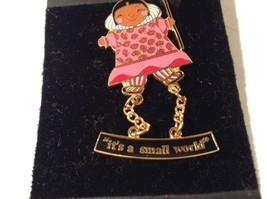 Walt Disney World Its A Small World Pocahontas NEW Pin Brooch image 4