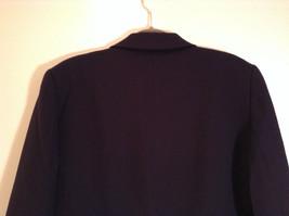 Black Fully Lined Eddie Bauer 100 Percent Wool Blazer Jacket Size 8 image 7