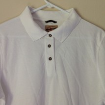 Wear Guard Size Large White Short Sleeve Polo Shirt Original Tag image 2