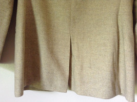 White and Light Brown Design Suit Jacket Blazer by Banana Republic Size 6 image 7