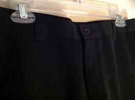 Black Kenneth Cole Four Pocket Dress Pants Button Zip Closure Size 31 by 32 image 5